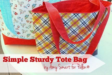 Tutorial: Simple Sturdy Tote Bag