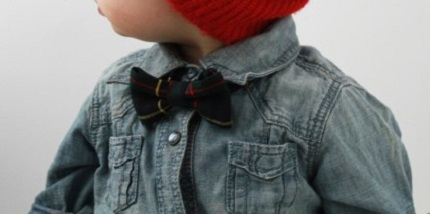 Tutorial: Quick to make child's skinny bow tie