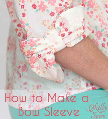 Tutorial: Bow sleeve detail