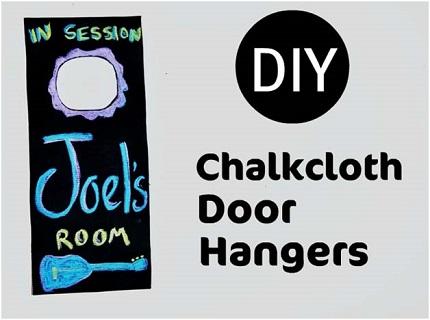 chalkclothdoorhangers