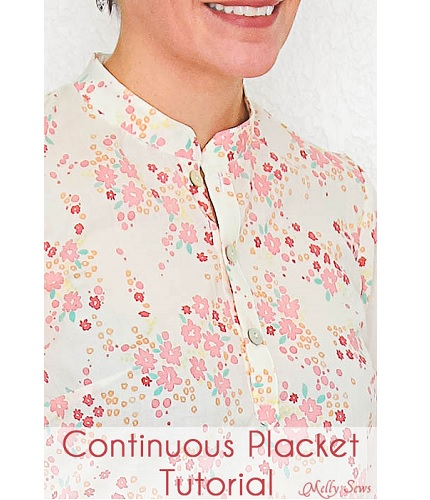 Tutorial: How to make a continuous placket