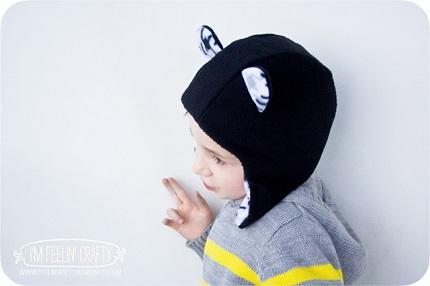 """Tutorial: """"Eared"""" earflap hat for little kids"""