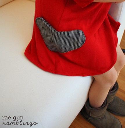 Tutorial: Heart shaped pockets