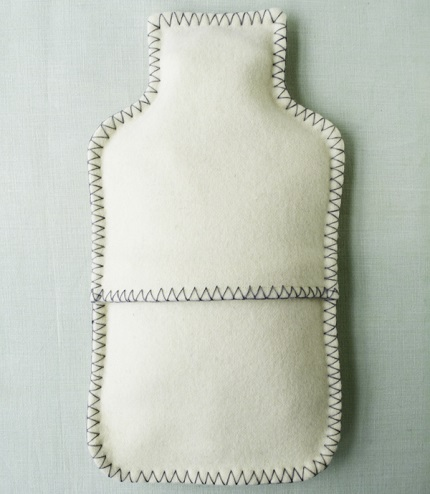 Tutorial: Felt hot water bottle cover