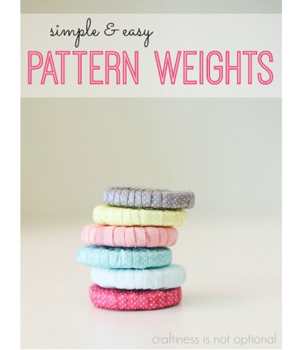 Tutorial: Ribbon wrapped pattern weights