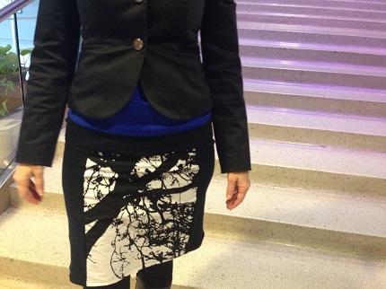 My Marimekko Side Panel Knit Skirt