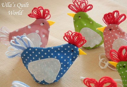 Tutorial: Chicken Easter egg covers