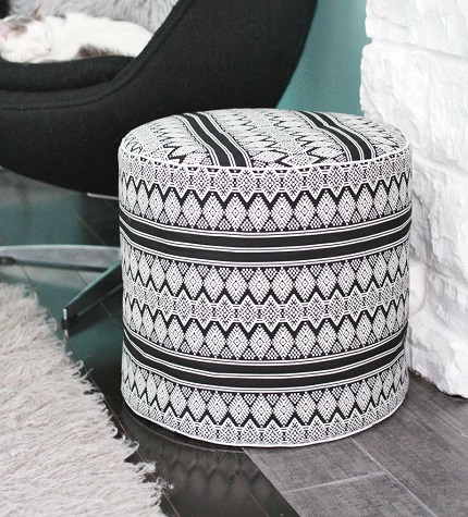 Tutorial: Drum Floor Pouf