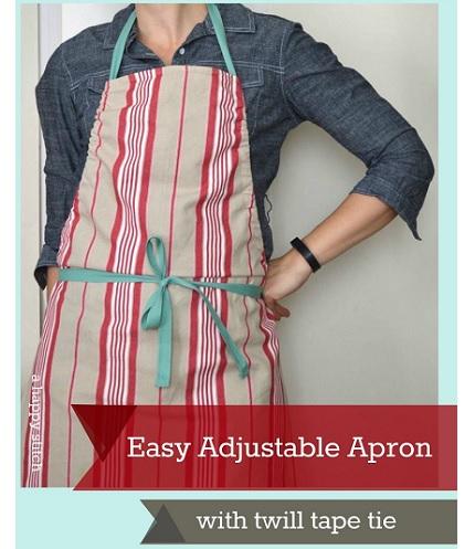 Tutorial: Easy Adjustable Apron