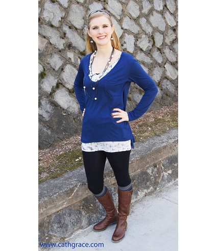 Tutorial: Anthropologie-inspired layered tunic