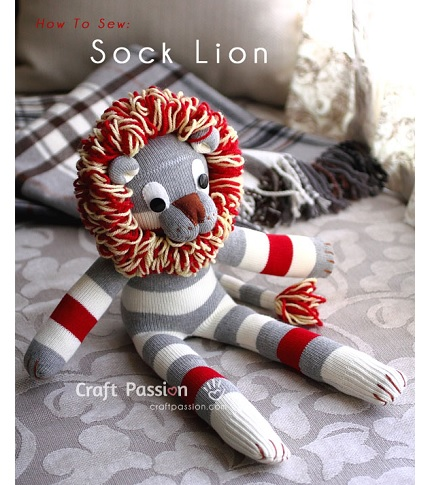 sock-lion