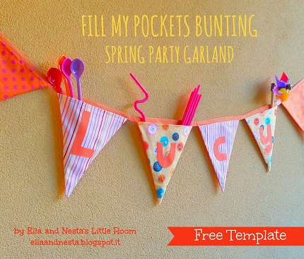 Tutorial: Fill My Pockets party bunting