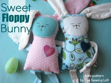 Free pattern: Sweet Floppy Bunny