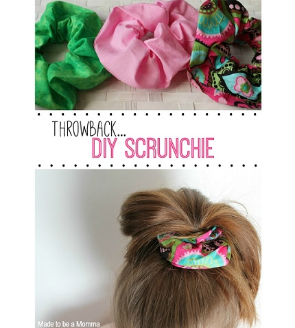 Tutorial: How to make a scrunchie