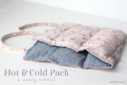Tutorial:  Hot and cold pack with handles
