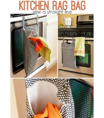 Tutorial: Kitchen rag bag
