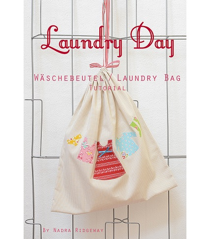 Tutorial: Laundry Day laundry bag