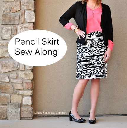 Tutorial: Pencil skirt sew-along