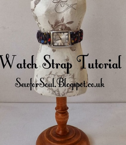 Tutorial: Stretchy fabric watch band