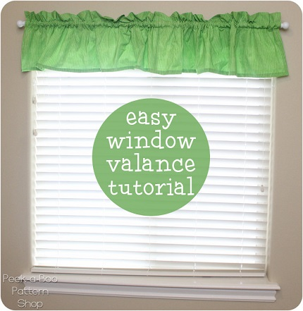 Tutorial: Easy window valance