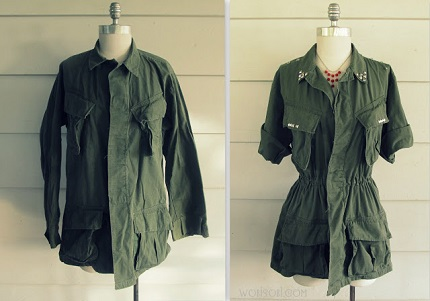Tutorial: Restyle an army jacket