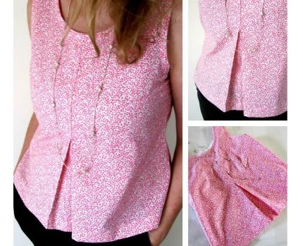 Tutorial: Adapt a sewing pattern to add an inverted pleat