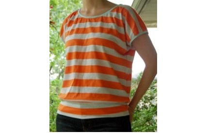 Free pattern: The Slouchy Shirt