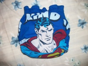 upcycled t-shirt diaper