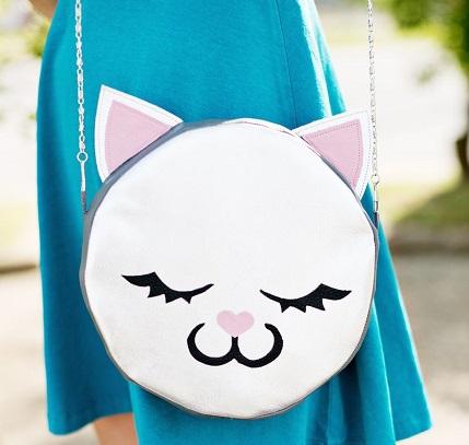Tutorial: Kitty cat purse