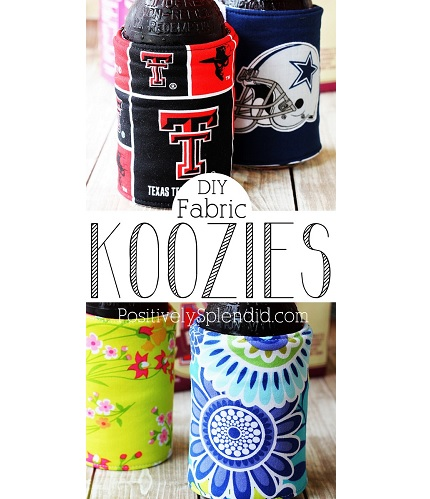 Tutorial: Insulated bottle and can wraps