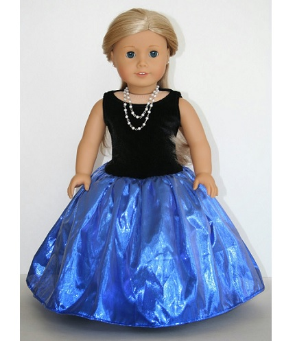 tutorial fancy party dress for an american girl doll sewing