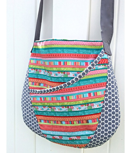 Free pattern: Oval messenger bag