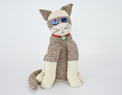 Video tutorial: Sock cat softie