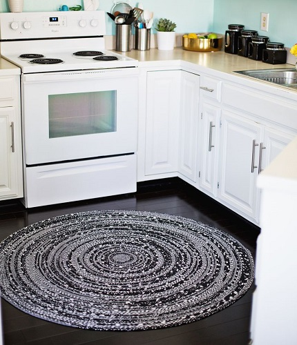 Tutorial: Fabric rope rug
