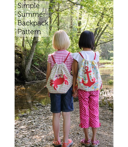 Tutorial: Simple Summer Backpack