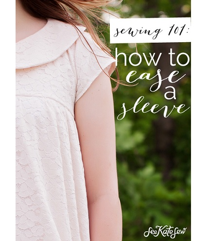 Tutorial: Easing in a sleeve cap