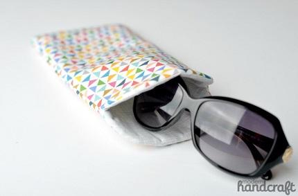 Tutorial: Curved top sunglass case