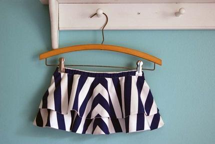Tutorial: Double Layered Chevron Circle Skirt