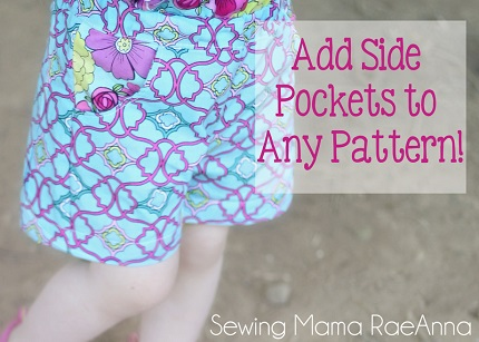 Tutorial: How to add inset side pockets to any pattern