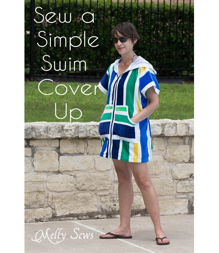 Tutorial Beach Towel Swim Cover Up Sewing
