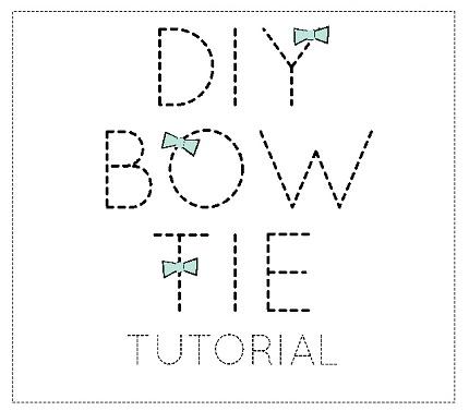Bow Tie Pattern Template  ApigramCom