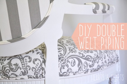 Tutorial: DIY double welt piping