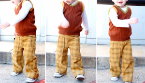 kids pants pattern