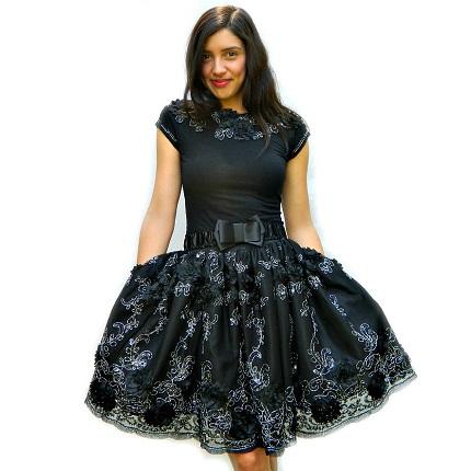 Tutorial: Easy DIY party dress