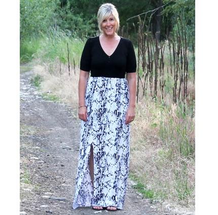 Tutorial: 15-minute maxi dress