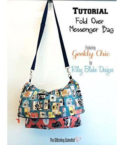 Tutorial: Fold over messenger bag – Sewing