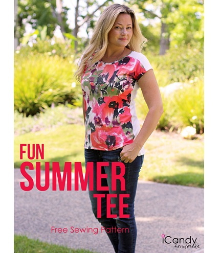 Free pattern: Fun Summer Tee