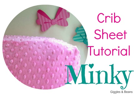 Tutorial: Minky crib or toddler bed sheet