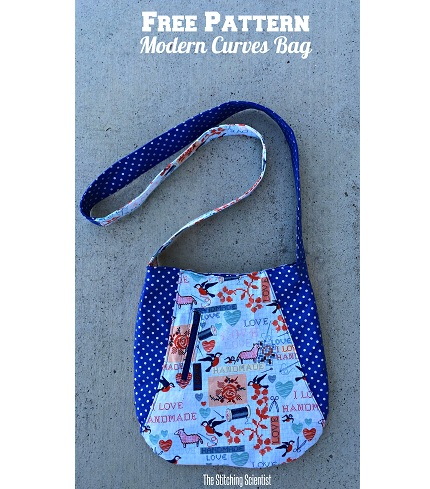 Free pattern: Modern Curves Tote Bag