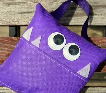 Tutorial Little Monster Tooth Fairy Pillow Sewing